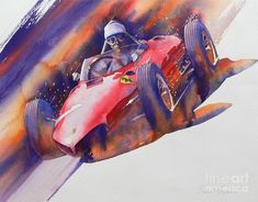 At The Limit Painting by Robert Hooper - At The Limit Fine Art Prints and Posters for Sale