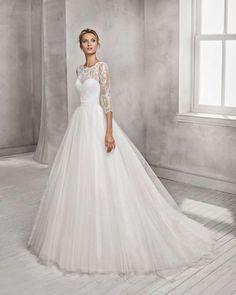 6e3f82249dd9 Luna Novias introduce le novità della sua collezione di abiti da sposa  2018
