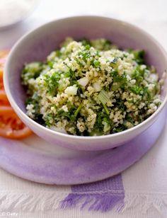 Boulghour aux graines de chia et herbes fraîches pour 4 personnes - Recettes Elle à Table - Elle à Table
