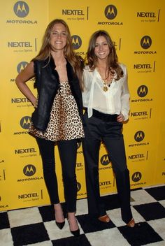 Berdie Bell and Olivia Palermo, attend the Sprint Champion's Party at the Marquee, on November 30, 2006 in New York City.