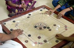 A game of #Carrom