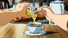 Marvelous Learn To Draw Manga Ideas. Exquisite Learn To Draw Manga Ideas. Anime Gifs, Anime Manga, Anime Art, Anime Coffee, Coffee Gif, Food Kawaii, Casa Anime, Japon Illustration, Merian