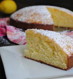 Pastel de limón mediterráneo