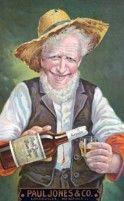 Pin Paul Jones Co Whiskey Old Man Hillbilly Tin Metal Sign Bar Garage Man Cave Alcohol Retro Advertising, Advertising Signs, Vintage Advertisements, Vintage Ads, Vintage Posters, Retro Ads, Vintage Signs, Vintage Style, Metal Bar