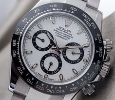 """BEST FROM: aBlogtoWatch & Friends July 22, 2016 - by Kenny Yeo - Get caught up on the latest from your favorites at: aBlogtoWatch.com """"The new stainless steel Rolex Daytona with Cerachrom bezel is hands down one of the most desirable watches of 2016. Fans of the Daytona have been waiting for this watch for a long time, and it is finally here. And if you frequently poke around various watch fora and Instagram...""""  Image via - Fratellowatches.com"""