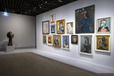"""Here, a look at """"Picasso.Mania,"""" a new exhibition at the Grand Palais in Paris. Picasso's grand-daughter Diana Widemaier Picasso tells us her favorites. Pablo Picasso, Picasso Art, Picasso Paintings, Jean Michel Basquiat, Roy Lichtenstein, David Hockney, Andy Warhol, Samba, Grand Palais Paris"""