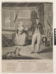 Poor Tom Bowling (caricature) - National Maritime Museum