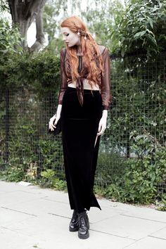 Olivia Emily - UK Fashion Blog.: Black & Copper.