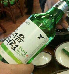 '처음처럼'부드러운 맛이 딱 좋습니다^^*  소주, soju, 처음처럼, 한국 술, korean drink, 알칼리 환원수로 만든 깨끗한 술♥
