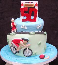 Another triathlon cake
