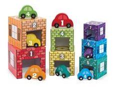 Cubes à empiler garages et autos