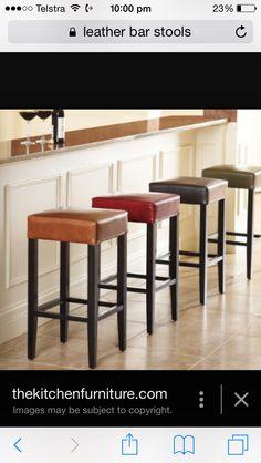 Island bench chairs