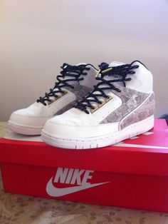 6044861ab1ae Laced Up Laces Black Gold Rope x Nike Air Pythons Photo Cred    LWKY Trust