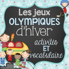 It is never too late to start learning about the Winter Olympics! This file includes a total of 39 French vocabulary cards and 6 activities with regards to the Winter Olympics sports/Les jeux Olympiques d'hiver. There are 16 vocabulary cards for Study French, Core French, Learn French, Kids Olympics, Winter Olympics, Winter Games, Winter Activities, High School French, French Class
