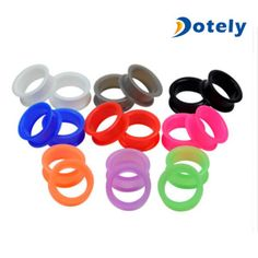 Earskin Healthy Thin Silicone Tunnels Value Pack on Made-in-China.com
