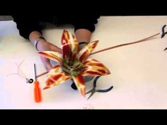 Fused Glass Lily - YouTube
