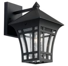 View the Sea Gull Lighting 88132 Herrington 1 Light Outdoor Lantern Wall Sconce at LightingDirect.com.