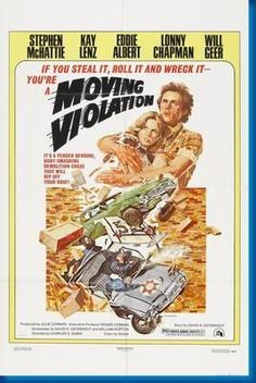 Moving Violations Movie Poster 24inx36in