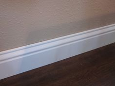 Baseboard styles modern with base molding ideas. Baseboard is the trim that goes along the wall bottom beside the flooring. Different baseboard styles. Baseboard Styles, Baseboard Molding, Base Moulding, Baseboard Ideas, Baseboard Heaters, Moldings, Interior Paint Sprayer, Shaker Style, Home Improvement Projects