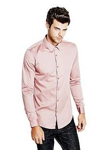 Luxe Super-Slim Fit Shirt | GUESS.com