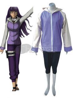 Naruto Cosplay-Naruto Shippuden Hinata Hyuga Cosplay Costume