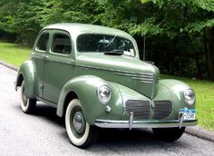 1952 AERO WILLYS JEEP Green 2-Door Car Vintage Look REPLICA METAL SIGN