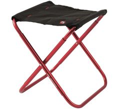 Robens Discovery Folding Stool red/black