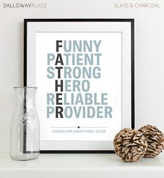 Fathers Day Present Awesome Dad Gift from by DallowayPlace on Etsy