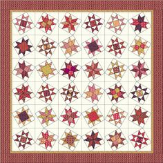 Happy Quilting: STARS Quilt Along Starts Today with the Fabric Requirements :)