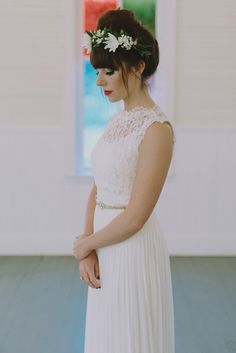 Festival inspired bridal fashion | Image by Wanderlust Creatives