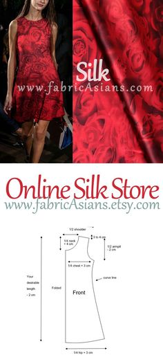 Free sewing pattern for a simple shift dress. More free sewing patterns at… Sewing Patterns Free, Free Sewing, Clothing Patterns, Sewing Tutorials, Dress Patterns, Sewing Clothes, Diy Clothes, Aya Couture, Robe Diy