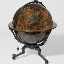 repurposed globe  | One of only two known celestial globes by Johannes Schöner (Museum of ...