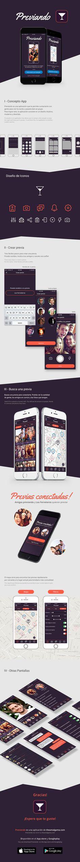 Previando App on Behance