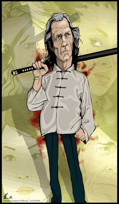Kill Bill - Bill (David Carradine) - Celebrating 10 Years of Kills