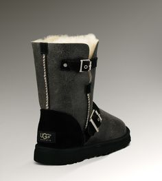 UGG® Classic Short Dylyn for Women | Motorcycle Inspired Classic Short Boots