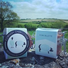 Cornish Charcuterie's brand new logo and packaging! Charcuterie, Rum, Packaging, Branding, Meat, Drinks, Logos, Pork, Beef