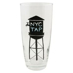 NYC Water Tower Glass - New York Patterns - Patterns & Collections