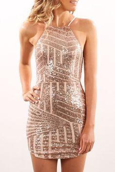Sintra Dress Gold