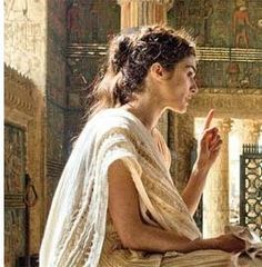 Hypatia. Torn apart by angry Christians for being too smart.