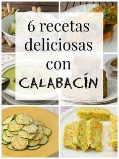 6 recetas con calabacín que no te puedes perder!! | https://lomejordelaweb.es/ Pinterest ^^ | https://pinterest.com/Ilovecocinar