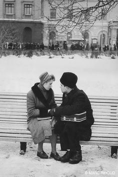 Moscow 1960 by Marc Riboud Marc Riboud, Vintage Photography, Street Photography, Old Photos, Vintage Photos, Moscow Winter, Fotojournalismus, Nostalgic Pictures, Long Pictures