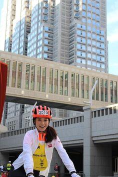 東京シティサイクリング大使に、森絵里香が就任