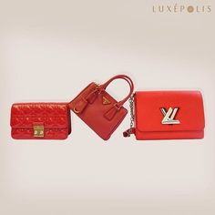 zpr Red never goes out of style and instantly adds glam to any look! Shop Prada, Louis Vuitton, Dior and more on Luxepolis!  #allthingsluxury #luxe #luxury #red #bright #elegant #stylish #chic #handbags #ootd #Outfit #finest #justin #accessories #preloved #fashion #style #brands #designer #classic #ecommerce #boutique #love #Luxepolis