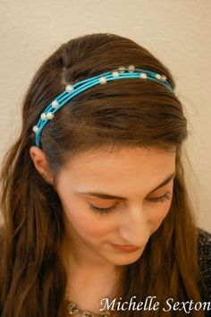 Easy DIY No Sew Headband With Pearls | Styleoholic