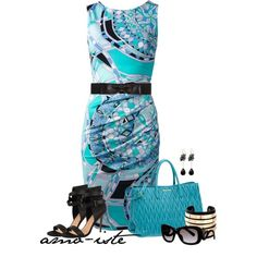 """Pucci Baroque Dress"" by amo-iste on Polyvore"