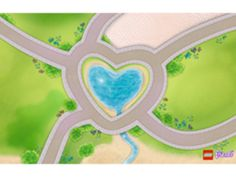 heartlake city lego friends playmat