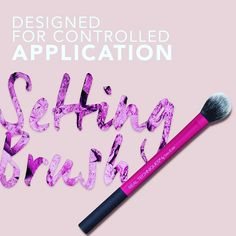 ❤️ ❤️ ❤️ #realtechniques #realtechniquesbrush #settingbrush #Setting #brush #settingpowder #powder #Makeup #makeupbrushes #sis_style… Application Settings, Real Techniques, Makeup Brushes, Powder, Design, Style, Swag, Face Powder, Stylus