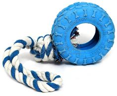 Dog Toy Tire On A Rope