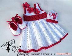 Free Crochet Patterns to Print | Free crochet dress graph pattern @ DIY Home Cuteness