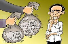 Kartun Benny, Kontan - September 2014: Awas Salah Pilih Kucing Dalam Karung